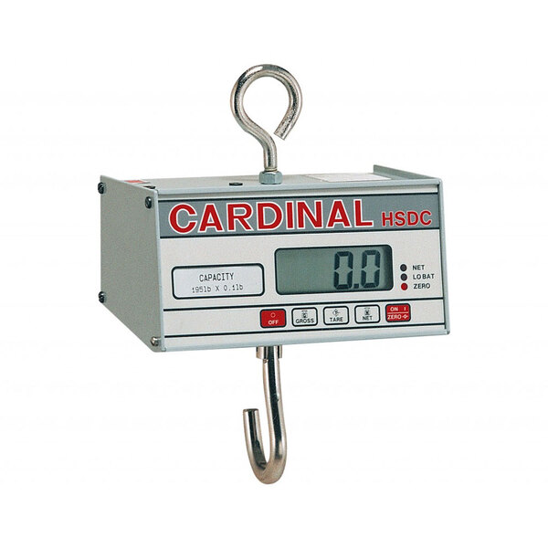 Cardinal Detecto HSDC-500 500 lb. Digital Hanging Scale, Legal for Trade