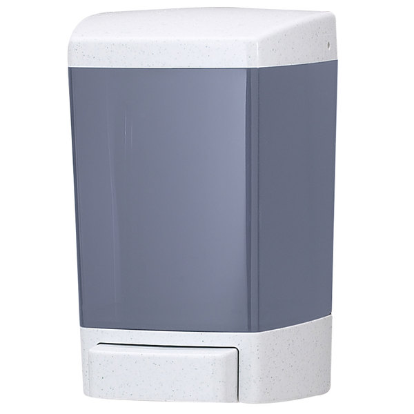 San Jamar S46TBL 46 oz. Bulk Soap Dispenser - Arctic Blue