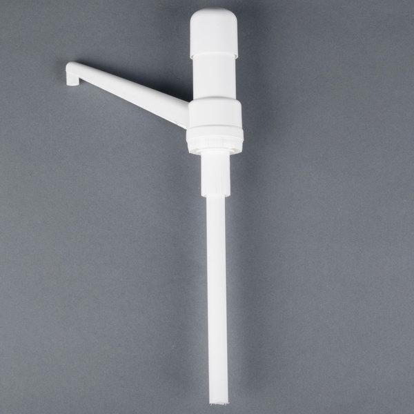 Carlisle 38600R 1 oz. Fixed Nozzle Pump with 9 inch Dip Tube