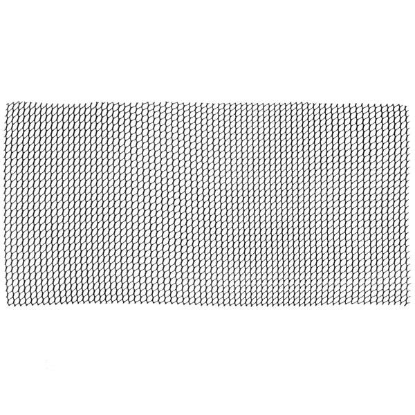 San Jamar PL0405 Poly-Liner 2' x 40' Black Shelf Liner