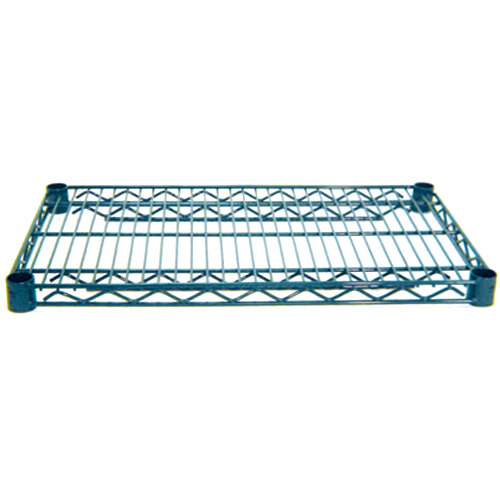 Advance Tabco EG-1824 18 inch x 60 inch NSF Green Epoxy Coated Wire Shelf
