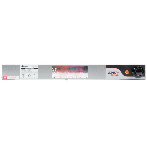 APW Wyott FD-24H-I 24 inch High Wattage Calrod Food Warmer with Infinite Controls - 575W