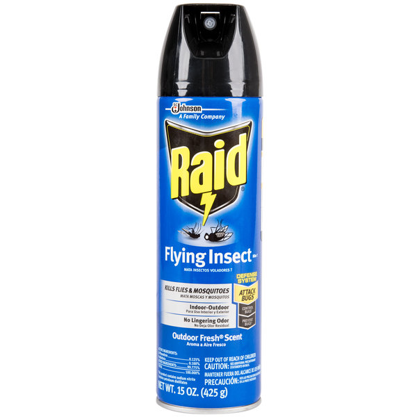 Diversey Raid 15 oz. Aerosol Flying Insect Killer - 12/Case