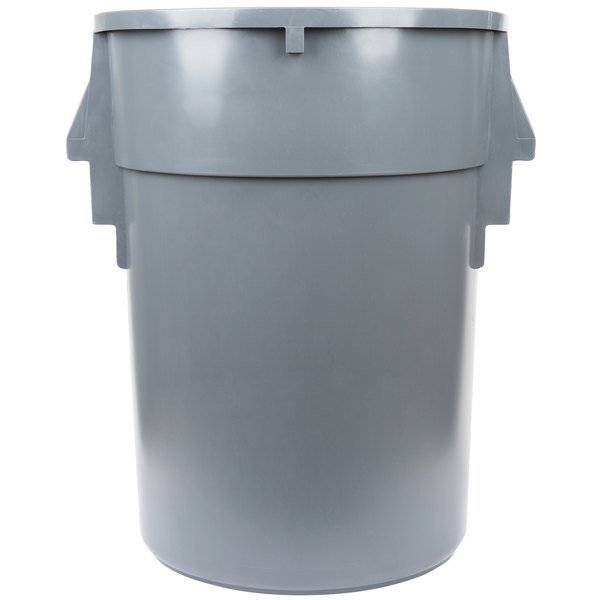 44 Gallon Ribbed Vented Trash Can