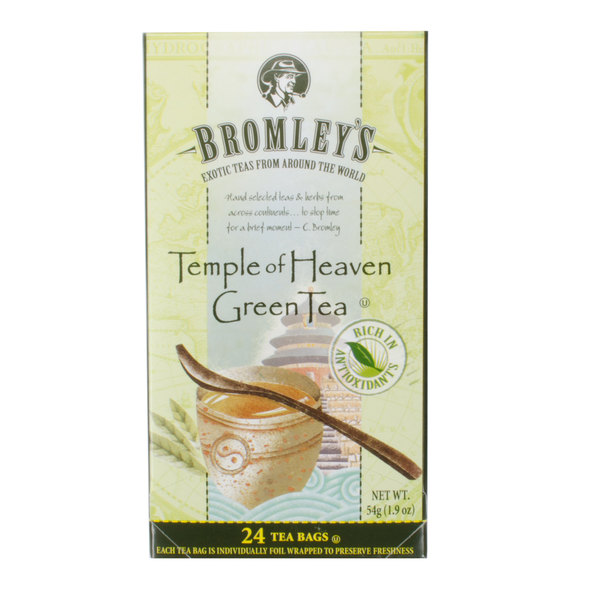 Bromley Exotic Temple of Heaven Green Tea - 24/Box