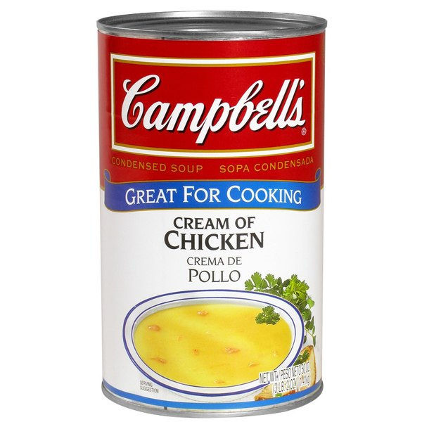 Campbell's Cream of Chicken Soup Condensed 50 oz. Can