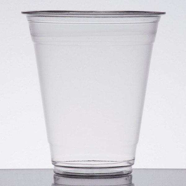 Choice 12 oz. Clear PET Plastic Cold Cup - 1000/Case