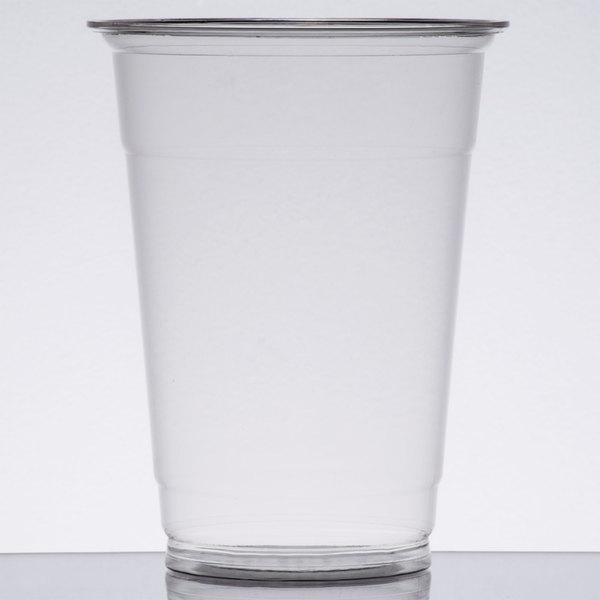 Choice 16 oz. Clear PET Plastic Cold Cup - 1000/Case