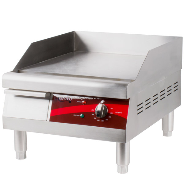 Electric Countertop Stove With Griddle : NEW! Electric Avantco EG16N 16