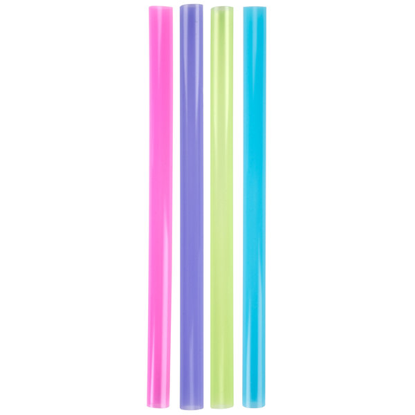 Dart Solo D85AN 8 1/2 inch Colossal Neon Straws - 4000/Case