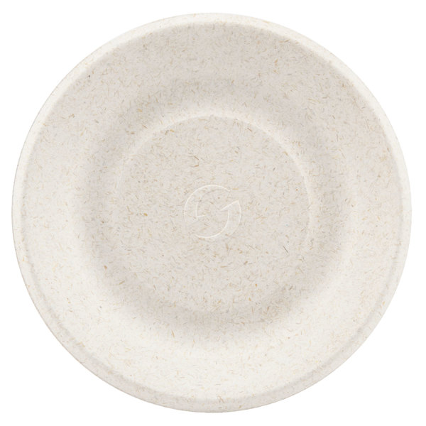 Green Wave Ovation Sugarcane / Bagasse OV-P006 6 inch Biodegradable and Compostable Premium Plate - 1000 / Case