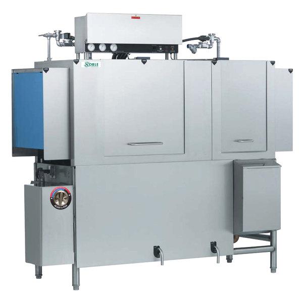 Noble Warewashing 66 Conveyor Low Temperature Dishwasher - Right to Left