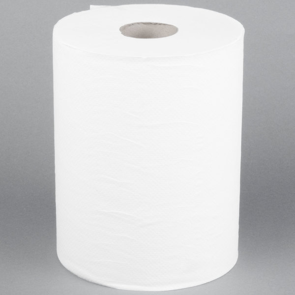 Merfin 550 Aircell (TAD) Soft Roll Paper Towel 700' Roll - 6/Case