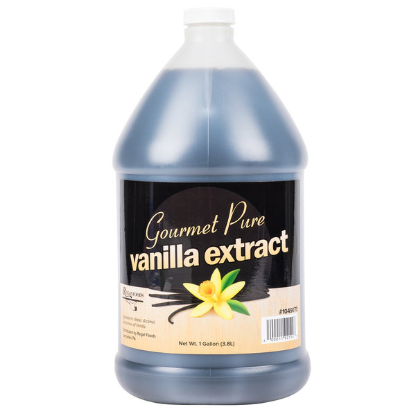 Regal Foods 1 Gallon Gourmet Pure Vanilla Extract