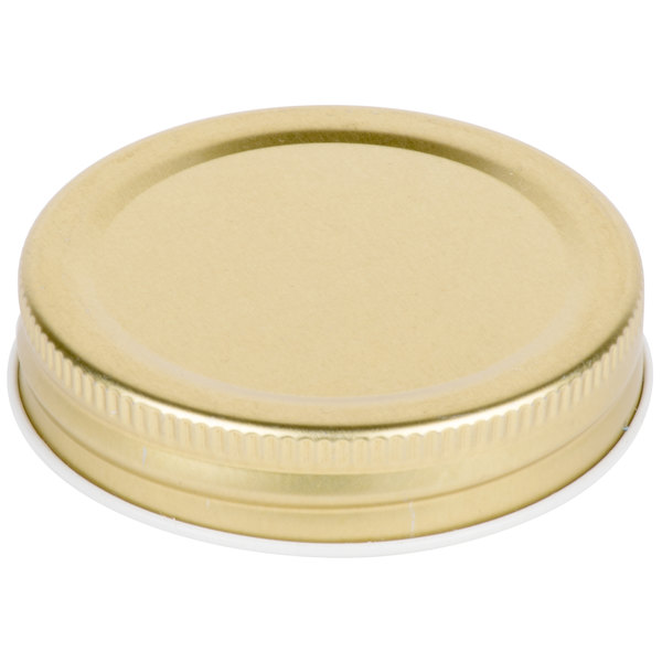 Core Gold Metal Drinking Jar Lid - 12 / Pack