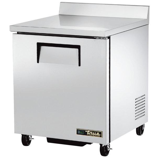 True TWT-27F 27 inch Single Door Worktop Freezer