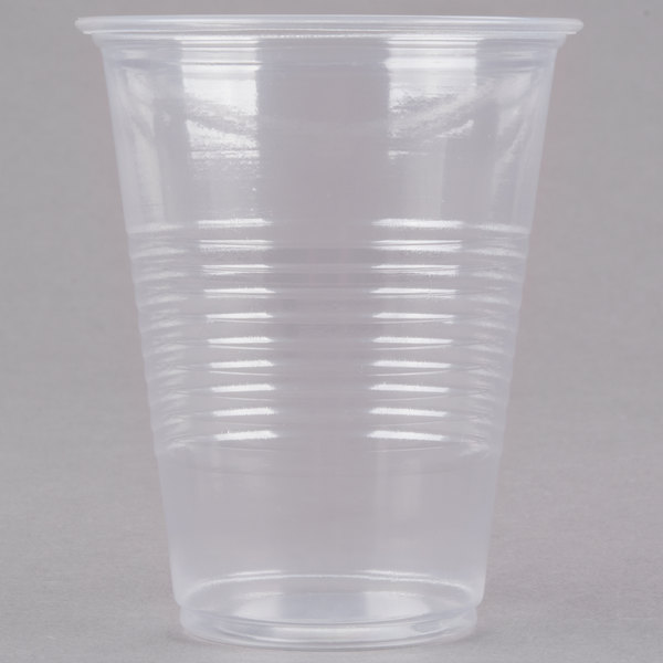 Choice 7 oz. Translucent Thin Wall Plastic Cold Cup - 2500/Case