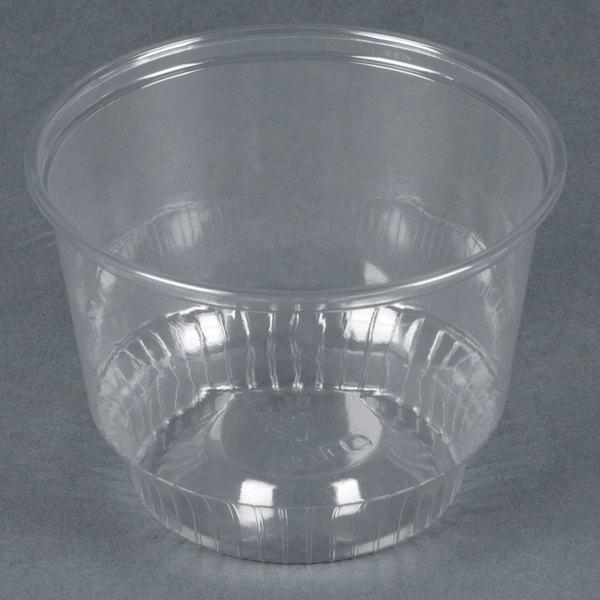 Dart Solo SD8 8 oz. Clear Plastic Sundae Cup - 1000/Case