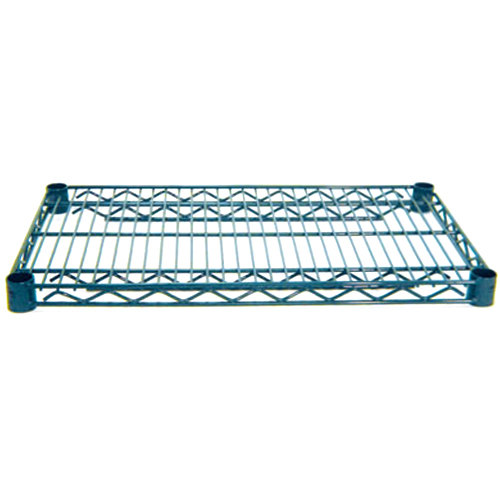 Advance Tabco EG-2472 24 inch x 72 inch NSF Green Epoxy Coated Wire Shelf