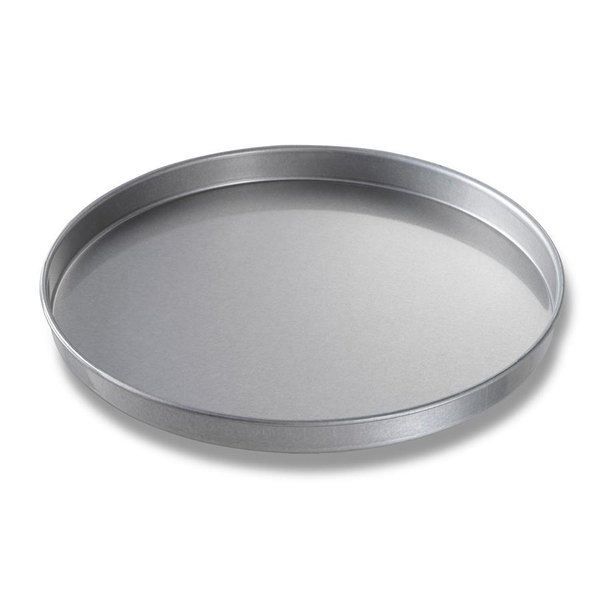 Chicago Metallic 41400 14 inch x 1 inch Aluminized Steel Round Cake Pan / Pizza Pan