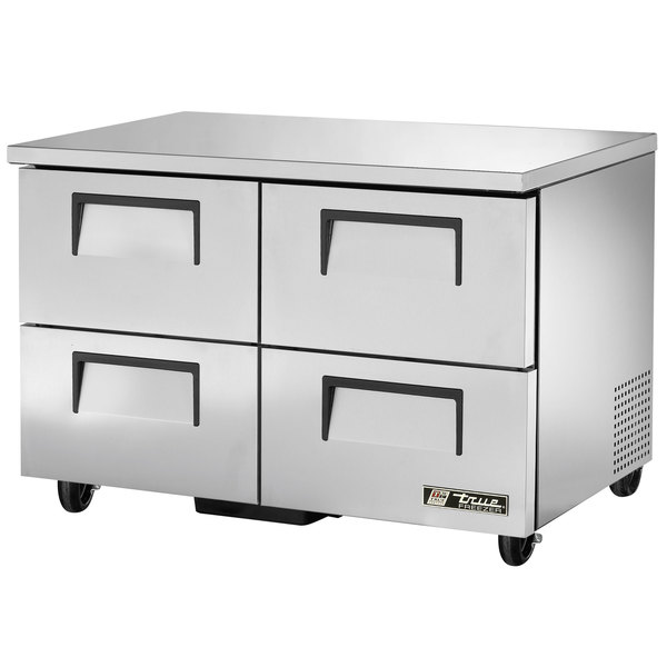 True TUC-48D-4 48 inch Undercounter Refrigerator with Four Drawers