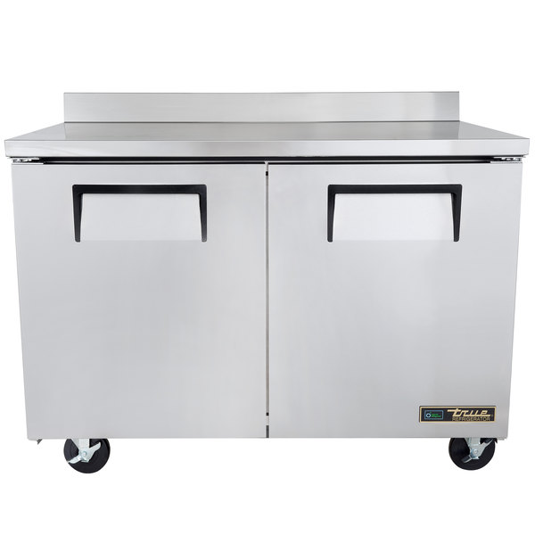 True TWT-48 48 inch Two Door Worktop Refrigerator