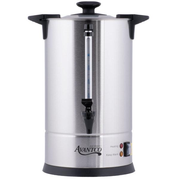 Avantco CU55ETL 55 Cup Stainless Steel Coffee Urn - 950W