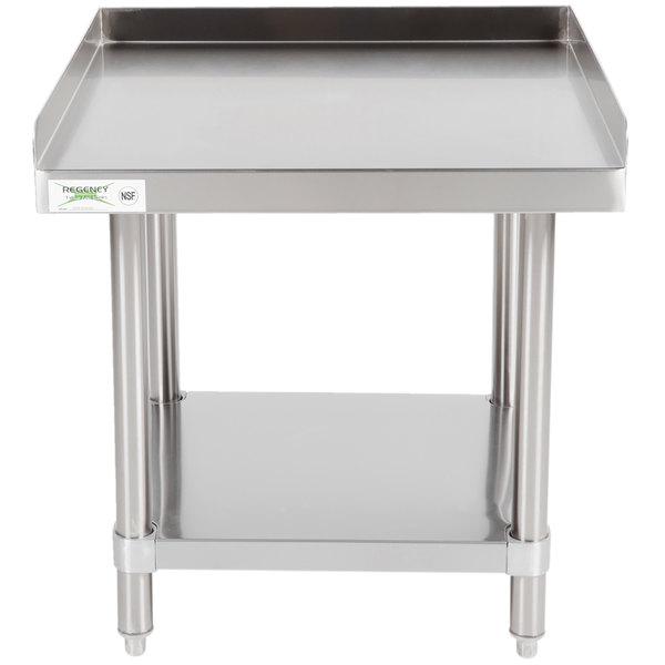 Regency 24 inch x 24 inch 16-Gauge Stainless Steel Equipment Stand With Undershelf