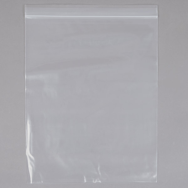 10 inch x 12 inch Heavy Weight Seal Top Freezer Bag - 100/Pack