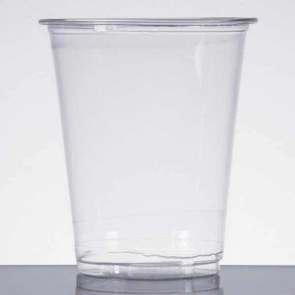 Choice 7 oz. Clear Plastic Cold Cup  - 50/Pack