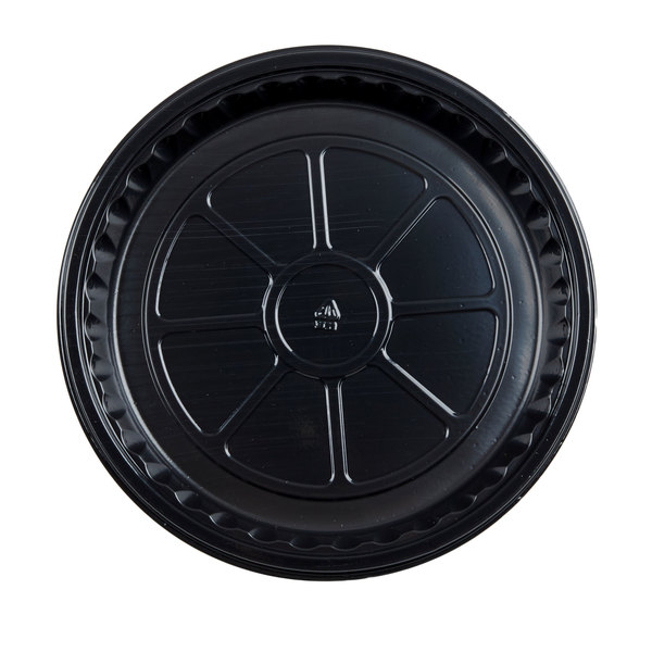 Genpak 55R08S Bake N' Show Dual Ovenable 8 1/2 inch x 1 inch Shallow Round Cake Pan - 200/Case