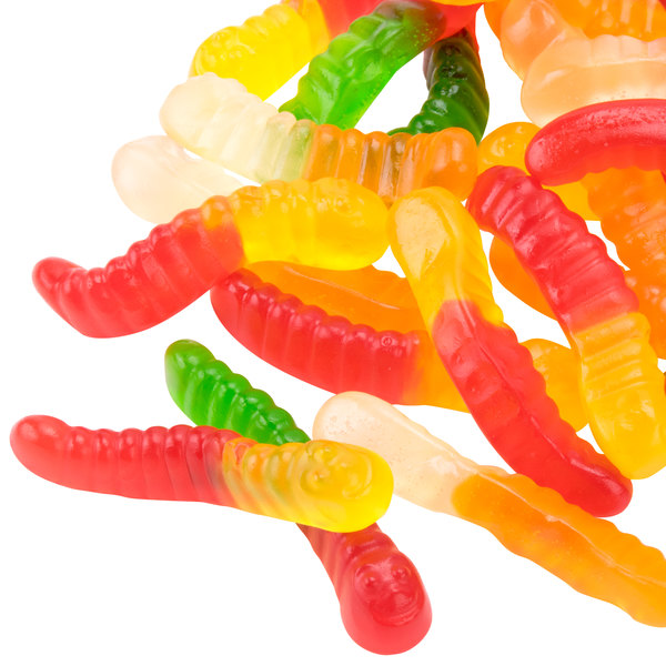 Gummi Worms Topping - 20 lb.