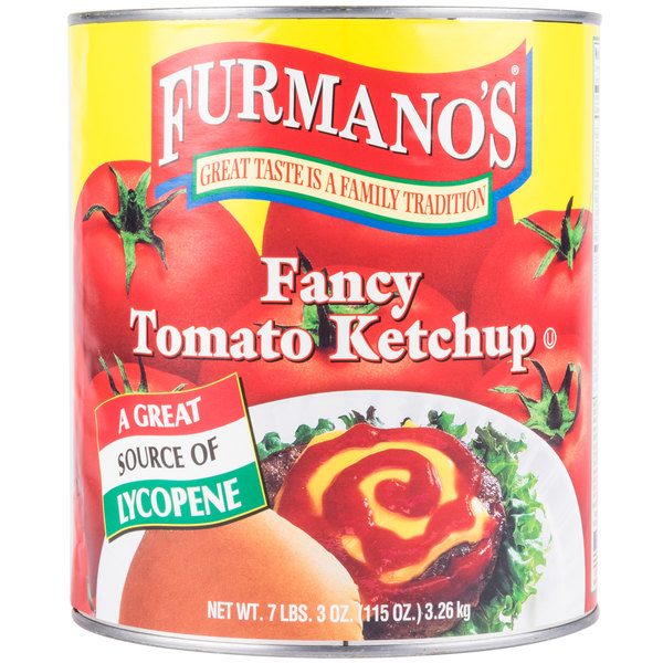 Furmano's Fancy Grade Ketchup - (6) #10 Cans / Case