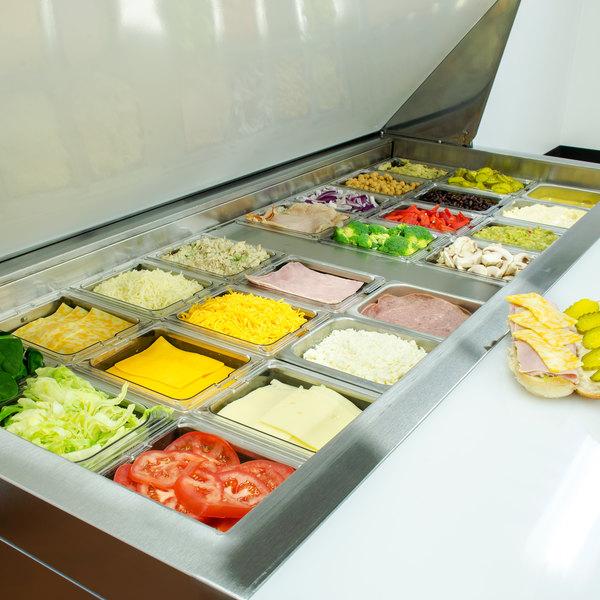 Avantco Sclm2 60 60 Quot Mega Top Two Door Sandwich Salad