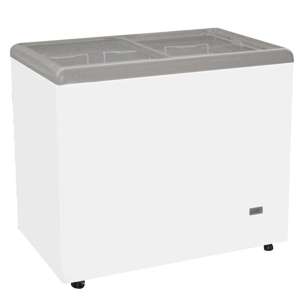 Excellence RIO-H-100 Ice Cream Flat Top Flat Lid Display Freezer - 7.6 cu. ft.