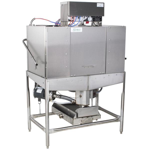 Noble Warewashing II Double Rack Low Temperature Dishwasher - 115V
