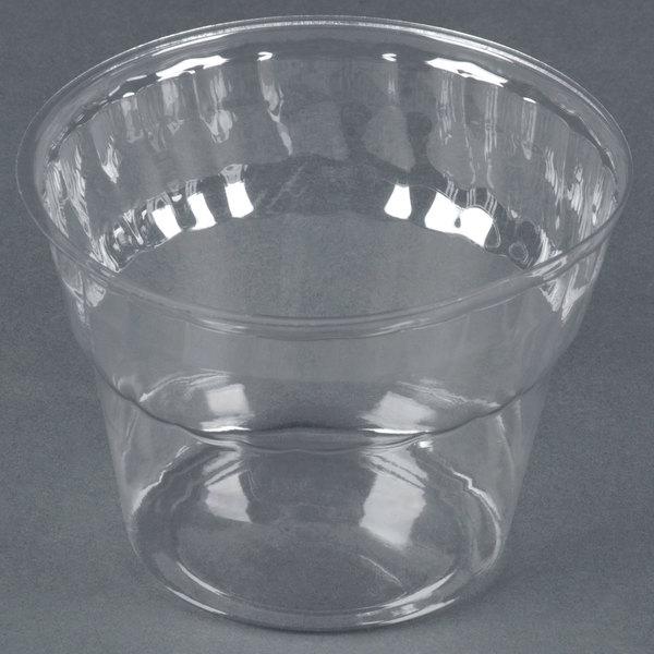 WNA Comet CDSPET8 8 oz. Classic Dessert Specialty Container / Sundae Cup 1000 / Case
