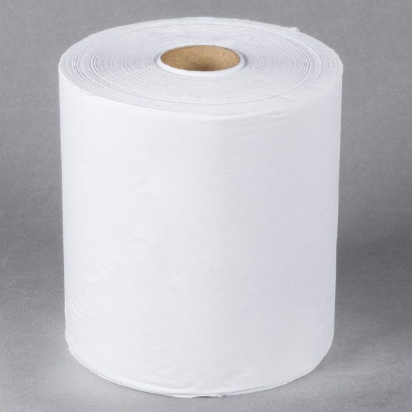 Lavex Janitorial 2-Ply White Center Pull Economy Paper Towel 600' Roll - 6/Case