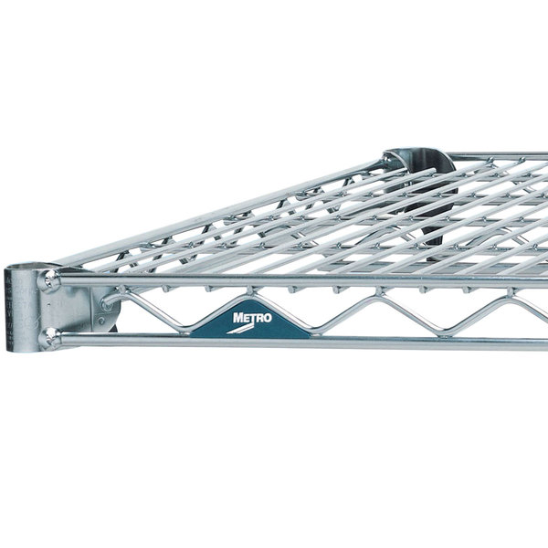 Metro 1442NC Super Erecta Chrome Wire Shelf - 14 inch x 42 inch