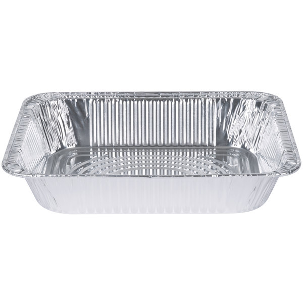 Choice 1/2 Size Foil Steam Table Pan - 100/Case