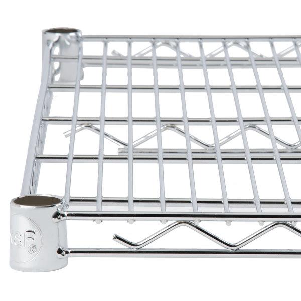 Regency 18 inch x 54 inch NSF Chrome Wire Shelf