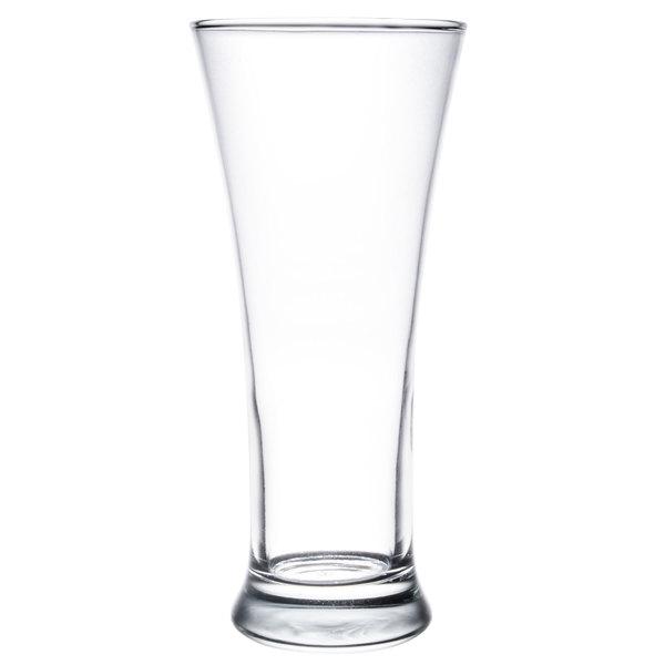 Anchor Hocking 90245 12 oz. Flared Pilsner Glass - 12 / Case