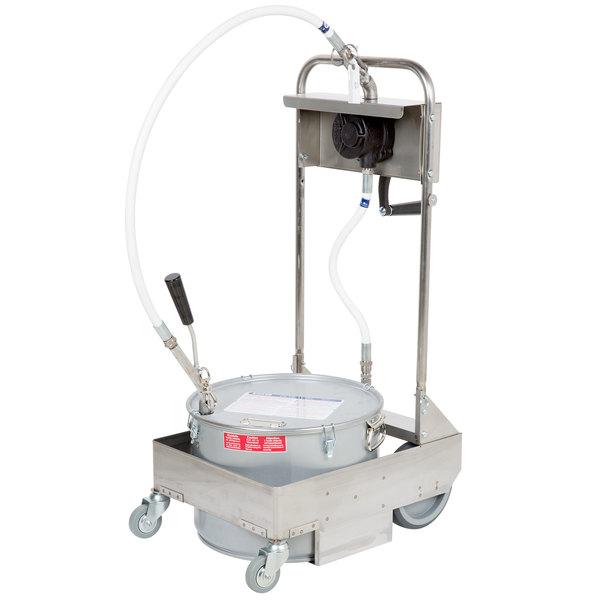 frymaster filter machine