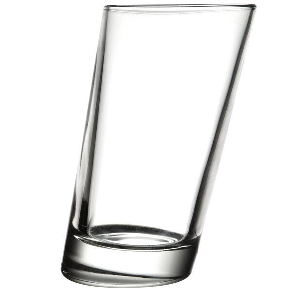 Libbey 11006921 Pisa 10.75 oz. Slanted Hi-Ball Glass - 12/Case