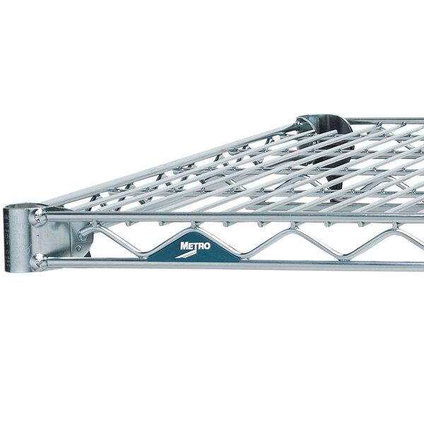 Metro 1448NC Super Erecta Chrome Wire Shelf - 14 inch x 48 inch