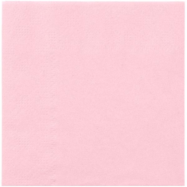 Hoffmaster 180327 Pink Beverage / Cocktail Napkin - 250 / Pack