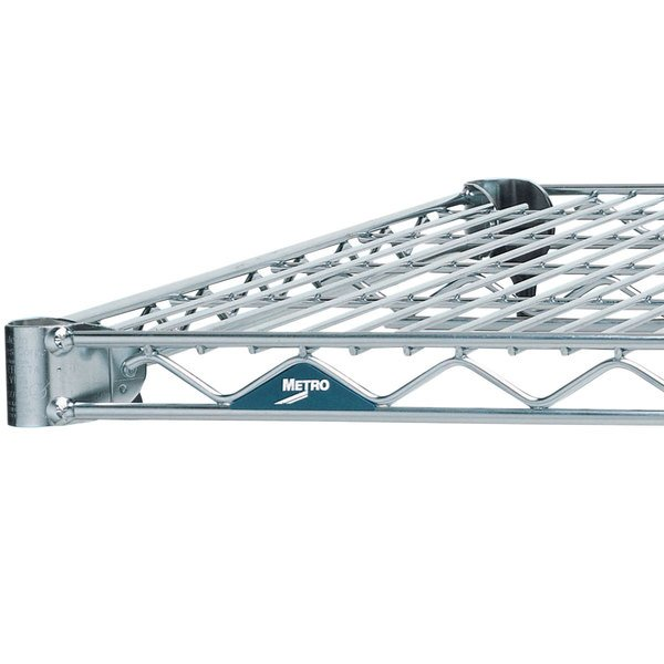 Metro 2154BR Super Erecta Brite Wire Shelf - 21 inch x 54 inch