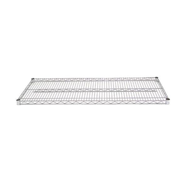 Advance Tabco EC-1424 14 inch x 24 inch Chrome Wire Shelf