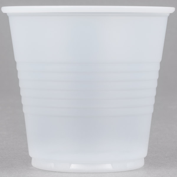 Dart Conex Galaxy Y35 3.5 oz. Translucent Plastic Cold Cup - 2500/Case