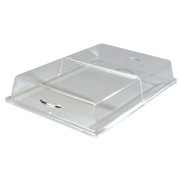 Carlisle SC2607 18 inch x 26 inch x 4 inch Rectangular Hinged Pastry Tray Cover